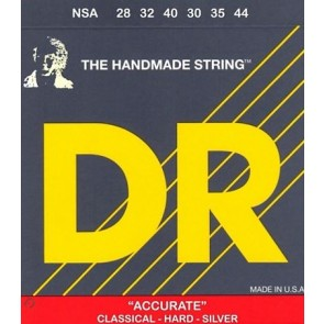 DR Nylon Classical 028 - 044 Accurate-Deluxe Silver-Plate žice za klasičnu gitaru