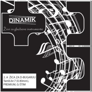 Dinamik 2. A žica za D-bugariju
