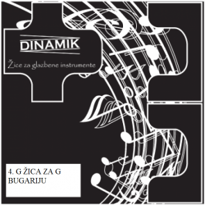 Dinamik 4. G žica za G bugariju