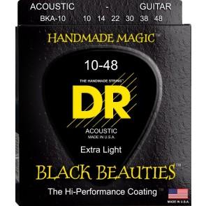 DR Black Beauties 010-460 žice za akustičnu gitaru