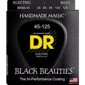 DR Black Beauties 045 - 125 žice za 5 žičanu bas gitaru
