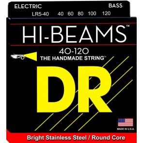 DR Hi-Beam Bass 40-120 Lite 5-String žice