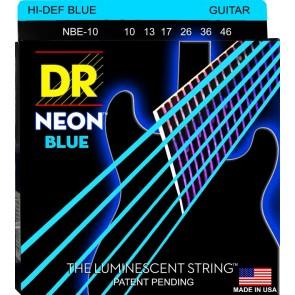 DR K3 NEON Blue 010 - 046 žice za električnu gitaru