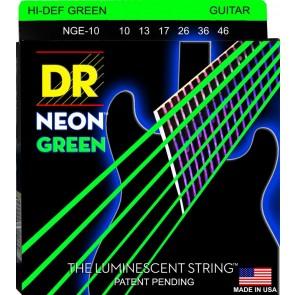 DR K3 NEON Green 010 - 046 žice za električnu gitaru