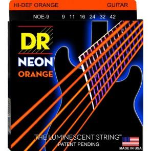DR K3 NEON Orange 009 - 042 žice za električnu gitaru