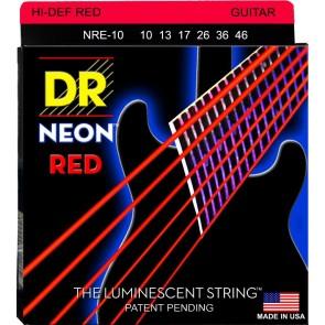 DR K3 NEON Red 010 - 046 žice za električnu gitaru