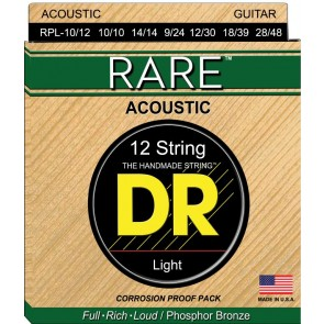 DR Rare Phosphor Bronze 010 - 048 žice za 12 žičanu akustičnu gitaru