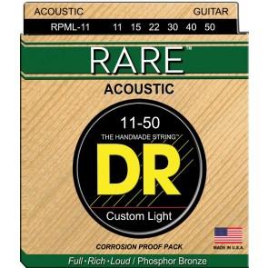 DR Rare Phosphor Bronze 011 - 050 žice za akustičnu gitaru
