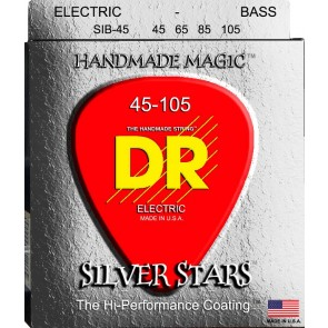 DR Silver Stars 045 - 105 žice za bas gitaru