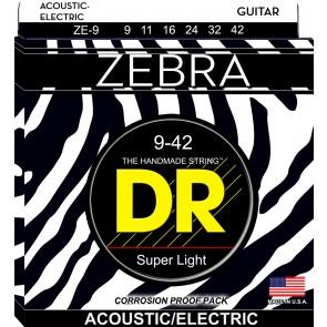 DR Zebra 009 - 042 žice za akustičnu/električnu gitaru