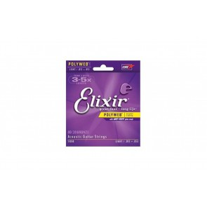 Elixir Polyweb 012 - 053 Light žice za akustičnu gitaru