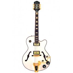 Epiphone Emperor Swingster White Royal
