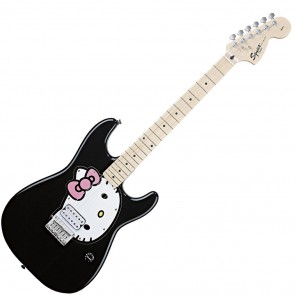 Fender Squier Hello Kitty Strat Black