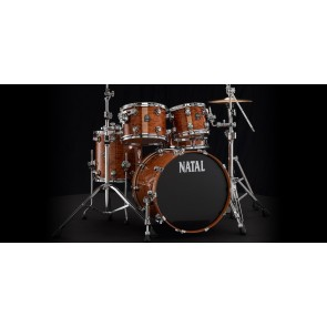 Natal Ash Rock Shell Pack Natural Bubinga