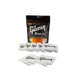 Gibson Brite Wire žice za električnu gitaru 5 kompleta .010 - .046