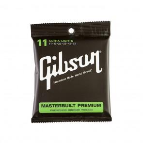 Gibson Masterbuilt Premium Phosphor Bronze žice za akustičnu gitaru-.011 - .052