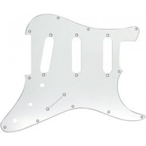 Guitar Tech S-Type Scratchplate. White