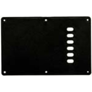 Guitar Tech Backplate Cover Black