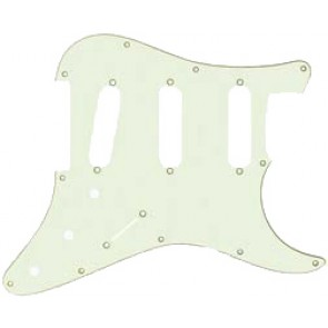 Guitar Tech USA-Type Scratchplate. Mint Green.