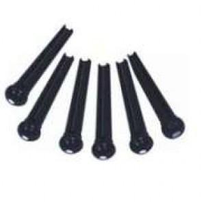 Guitar Tech GT607 Black pinovi za akustičnu gitaru