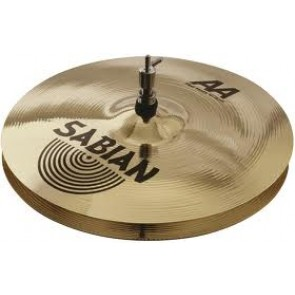 "Sabian 14"" AA Flat Hats Brilliant"