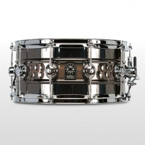"NATAL SNARE SD-BHC-BC47 Beaded / Hammered Steel Snare 14"" x 7"""