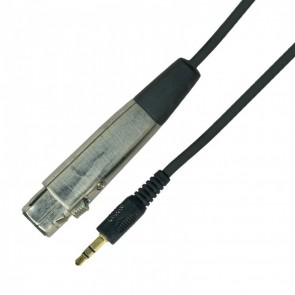 Kinsman kabel adapter XLR ženski - stereo 3,5mm, 3m