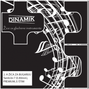 Dinamik 2. H žica za bugariju