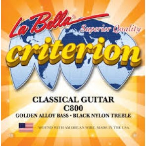 La Bella C800 Criterion žice za klasičnu gitaru black