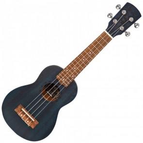 Laka Acoustic Soprano Ukulele s torbom, Midnight Blue
