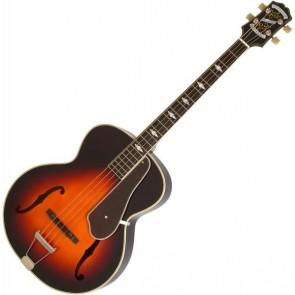 Epiphone De Luxe Classic Acoustic Electric Bass Vintage Sunburst