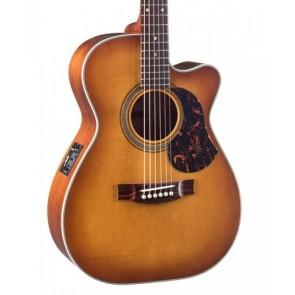 Maton EBG808C Nashville Vintgage Amber Burst Satin elektro akustična gitara