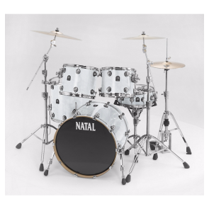 Natal Ash Rock Shell Pack White Swirl