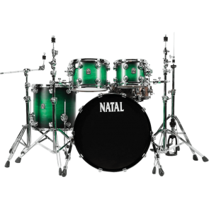 NATAL CAFE RACER UF22 GREEN SATIN SHELL SA SNAREOM