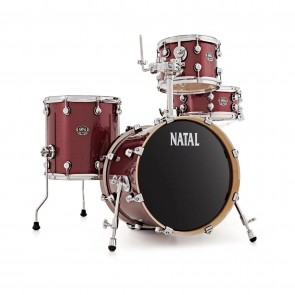 NATAL ARCADIA PRO T6 BIRCH 16/10/13/13 SHELL PACK RED SPARKLE