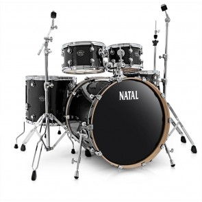 Natal Birch Fusion 22 Shell Pack Gloss Black