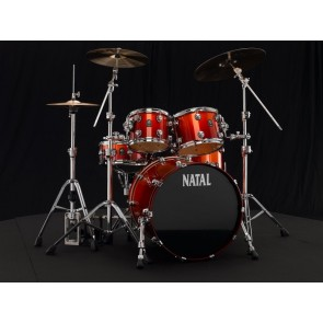 "Natal Maple Fusion 22 Shell Pack + 16"" Floor Tom Sunburst Fade"