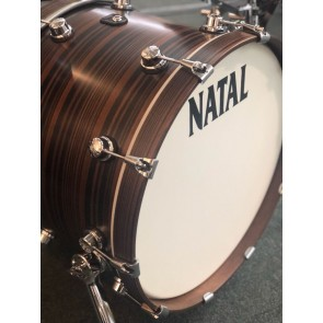 "Natal Cafe Racer 22"" Shell Pack Ebony Veneer"