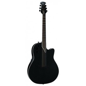Ovation MT37-5 Mick Thomson Signature Limited Edition Black Textured