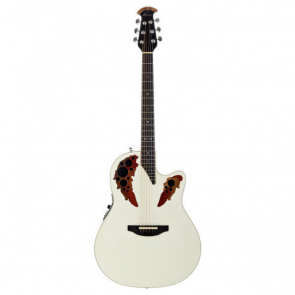 Ovation 2778AX-6P Standard Elite White Pearl