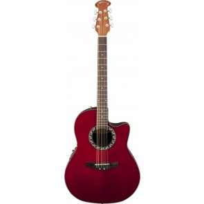 Ovation AB24-HB Applause Balladeer Ruby Red