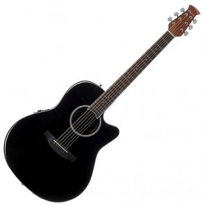 Ovation AB24II Applause Mid-Cutaway Black elektro-akustična gitara