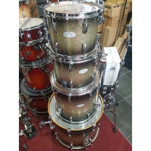 Pearl Vision VML Maple Black Silver Burst