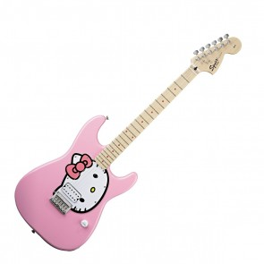 Fender Squier Hello Kitty Strat Pink