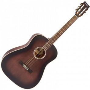 """Vintage V660AQ Historic Series """"Drop shoulder"""" akustična gitara"""
