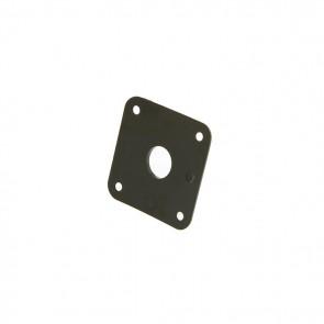 Gibson Jack Plate - Black Plastic