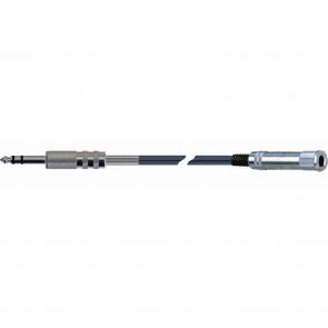 Quiklok AD11-3 kabel adapter stereo 6,3mm jack - 6,3mm jack female, 3m
