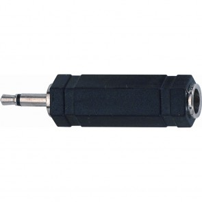 Quiklok AD18 adapter mono 3,5mm jack plug - mono 6,3mm jack socket