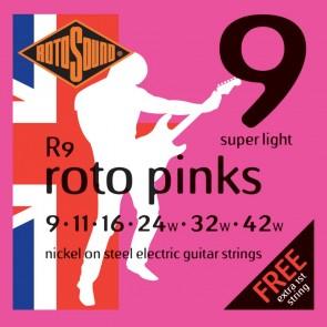 Rotosound 009 - 042 R9 Roto Pink Nickel žice za električnu gitaru