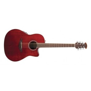 Ovation CS24-4 Celebrity Ruby Red